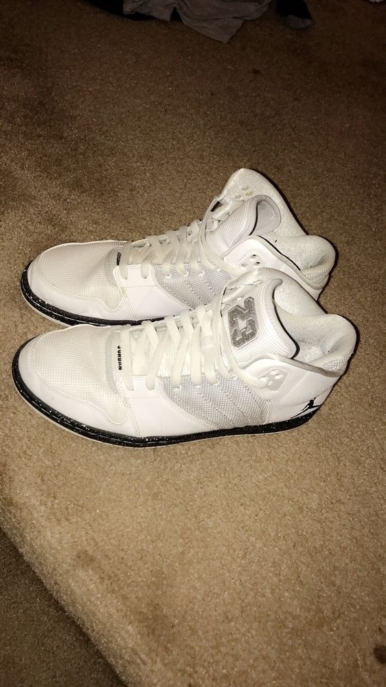 best website 13e43 bd6b0 white nike jordan s mens size 10 used  fashion  clothing  shoes   accessories  mensshoes  athleticshoes (ebay link)