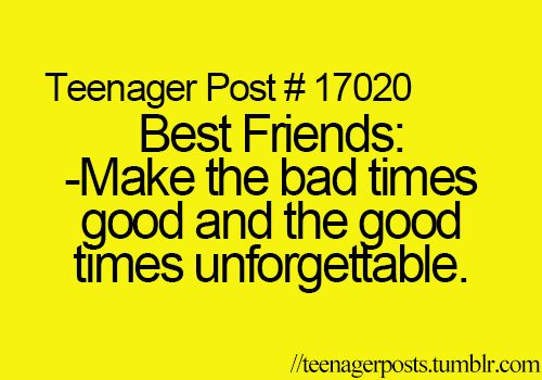 Peace, Love, and Advice |Teenager Post About Friendship