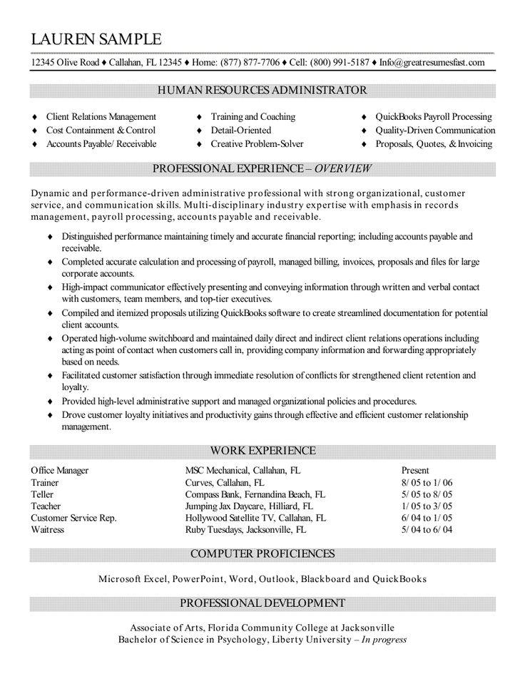 Computer Skills On Sample Resume http//www.resumecareer