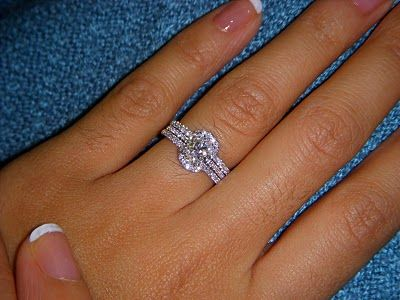 11 best Wedding ring enhancer ideas images on Pinterest Wedding