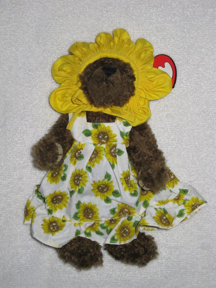 Susannah 'You Are My Sunshine' TY Teddy Bear Beanie Attic Treasures Collection