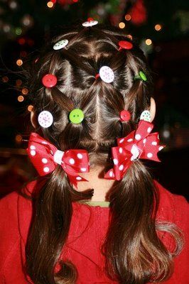 """So cute!  This style is called """"The Christmas Tree""""!"""