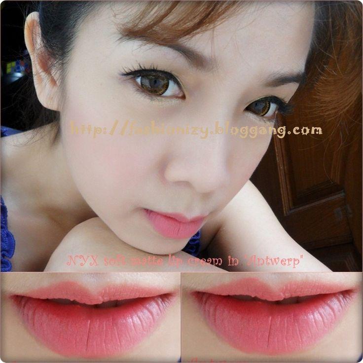Antwerp nyx matte lip cream