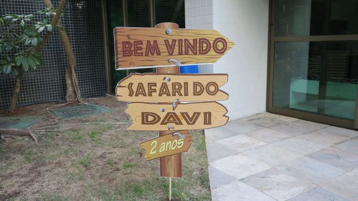 "Os 02 anos do Davi – Tema ""Safari"""