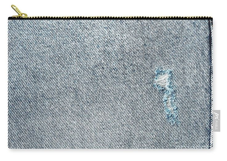 Modern Denim Jeans Carry-All Pouch