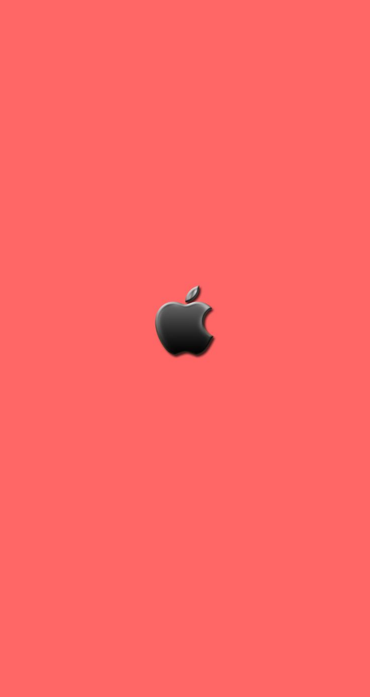 iPhone 5c Wallpaper,, with the apple in the center. pretty color.