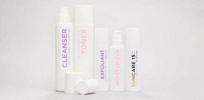 Dr. Jetske Ultee   Productlijn Uncover Skincare   Met vijf basisproducten in de badkamer kan bijna iedereen een mooie, gezonde huid krijgen.