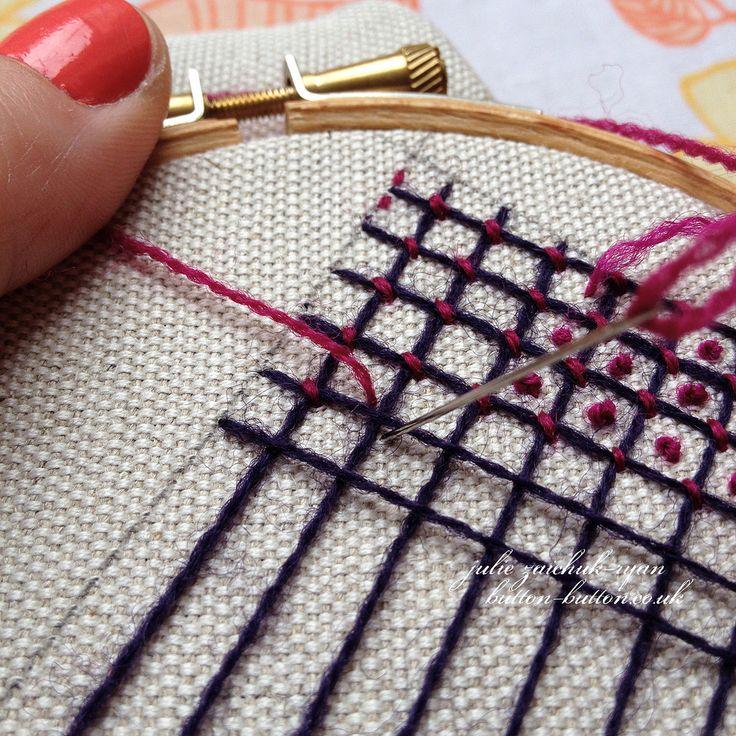 "https://flic.kr/p/kWjKXR | Crewel Filling Stitches - Sampler #6 | First stitch begun! <a href=""http://button-button.co.uk/sampler-6-first-crewel-filling-stitch"" rel=""nofollow"">button-button.co.uk/sampler-6-first-crewel-filling-stitch</a>"