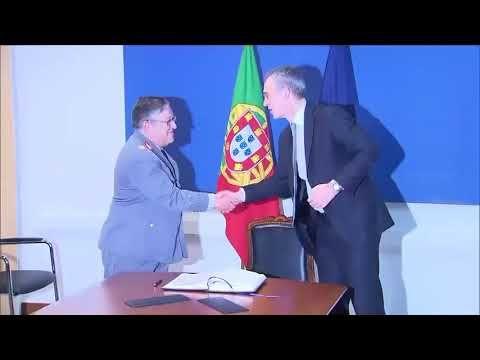 Defense Flash News : NATO Secretary General in Portugal – Arrival B-Roll LISBON, PORTUGAL 01.26.2018 Courtesy Video Natochannel The NATO Secretary General, Mr. Jens Stoltenberg traveled to Lisbon on Friday, 26 January 2018. He met the President, Prof. Dr. Marcelo Rebelo de Sousa, the...