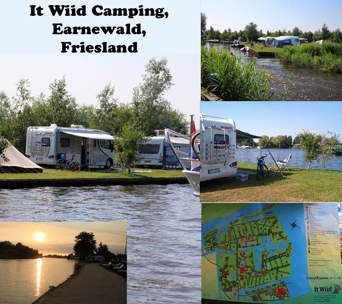 It Wiid Camping, Earnewald, Friesland, Netherland / Holland