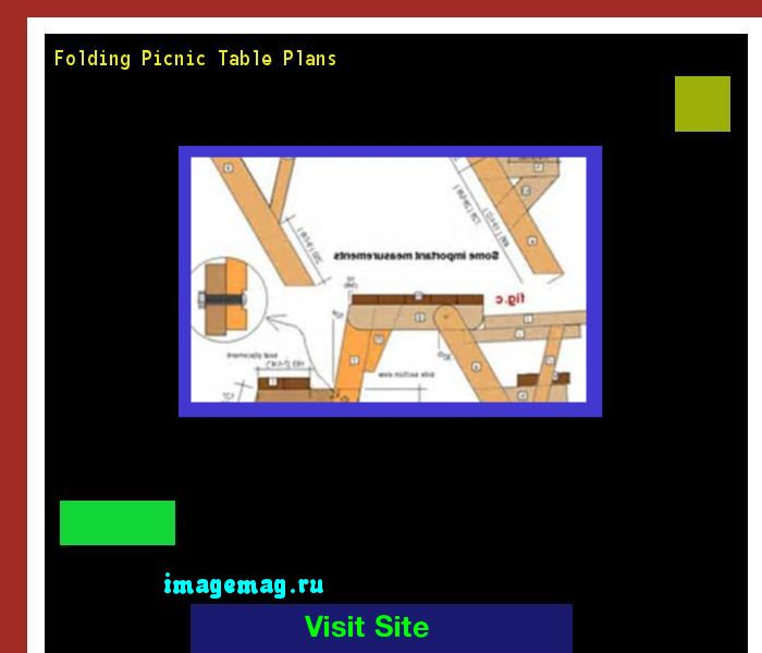 Folding Picnic Table Plans 143657 - The Best Image Search