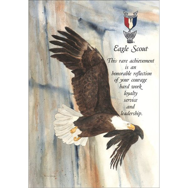 Hilaire image with eagle scout congratulations card printable