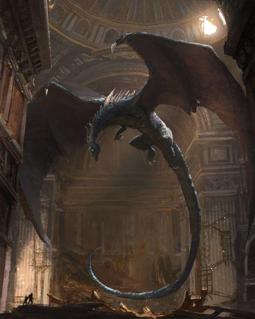 fantasyartwatch:  Dragon First Flight by Julien Gauthier