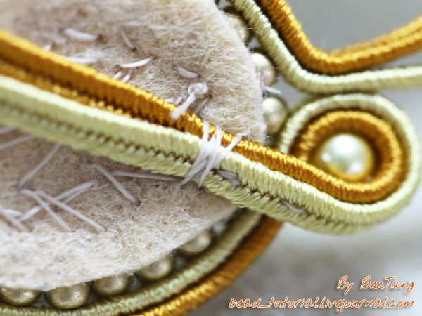 Excellent Soutache Tutorial - Combining beads with braiding to make jewelry