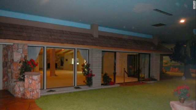 The 70's-style Las Vegas doomsday bunker was built during the height of the Cold War Twenty-six feet underground, the bunker feels like you are actually outside The bunker is now being sold as a foreclosure for $1.75 million