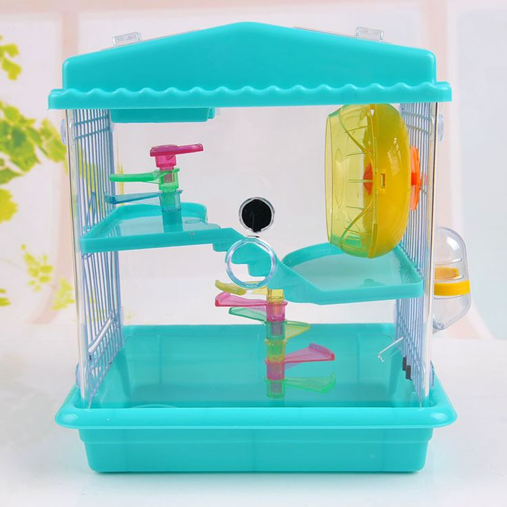 Large luxury Hamster Cage house Transparent Super plastic acrylic Hamster chinchilla Cages DIY hamster accessories free shipping