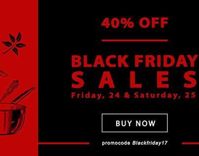 """Check out new work on my @Behance portfolio: """"Black Friday banner"""" #webbanner #banner #salesbanner #promobanner #design #blackfridaybanner"""