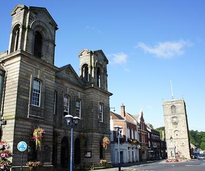Morpeth Town Hall, Morpeth, Northumberland, England