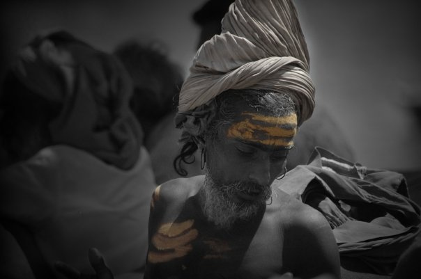 Sadhu at Varanasi, India (2005)