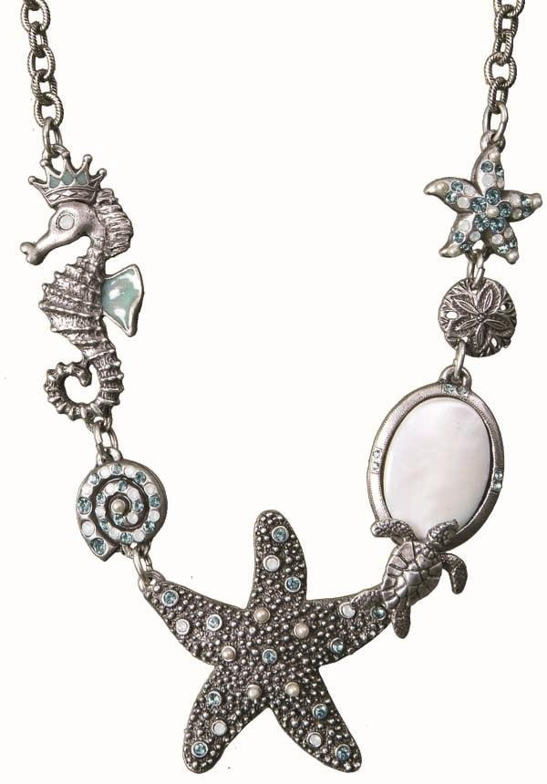 Make a statement with this bold Starfish Under The Sea Necklace from artist Mary DeMarco.: Style, Jewellery, Sea Starfish, Necklaces, Under The Sea, Starfish Necklace