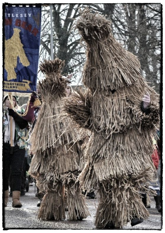 Weekend of singing, dancing, storytelling & parades at The Whittlesey Straw Bear Festival.. #WhittleseyStrawBearFestival #EnglishFestival #FolkCustoms #Pagan #Folk