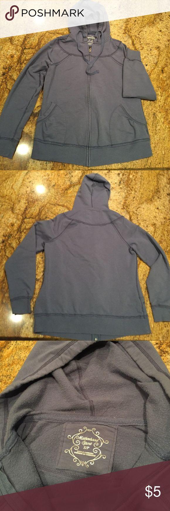 MATERNITY hoodie Motherhood maternity sweatshirt in good condition.  Zipper front with drawstring hood. Motherhood Maternity Tops Sweatshirts & Hoodies