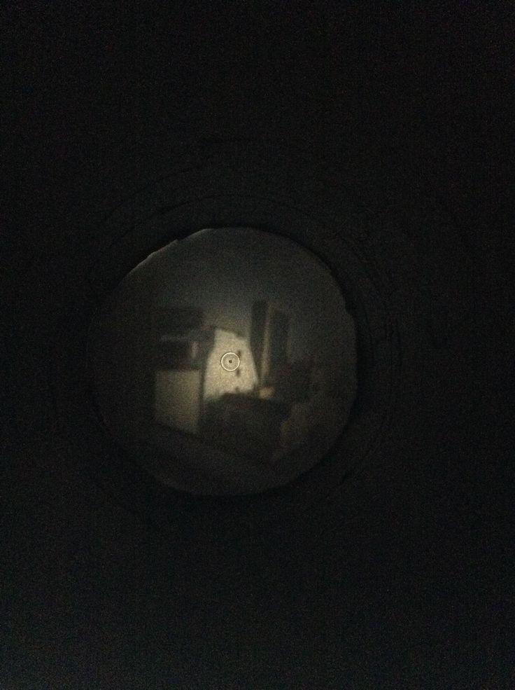 """""""Camera Obscura"""" project redo. 2016. Kim."""