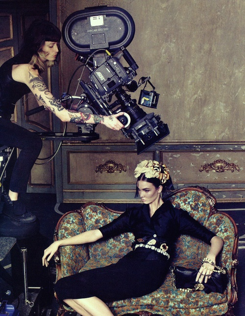 Karlie Kloss by Steven Klein for Dolce & Gabbana Spring 2009 Ad Campaign