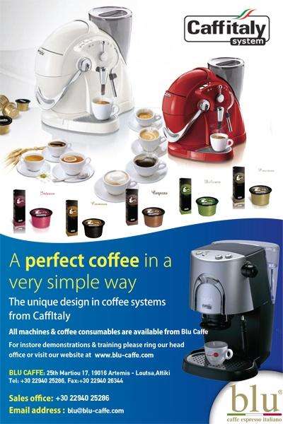 Newsletter for Blu Caffe