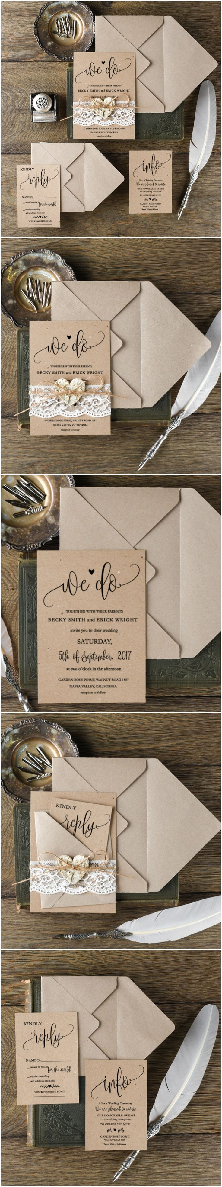 Best 44 Wedding Invitations Ideas On Pinterest Card Wedding