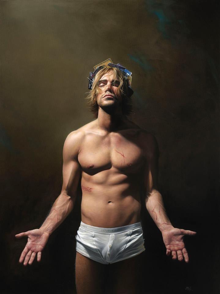 Современная живопись Митча Гриффитса (Mitch Griffiths)