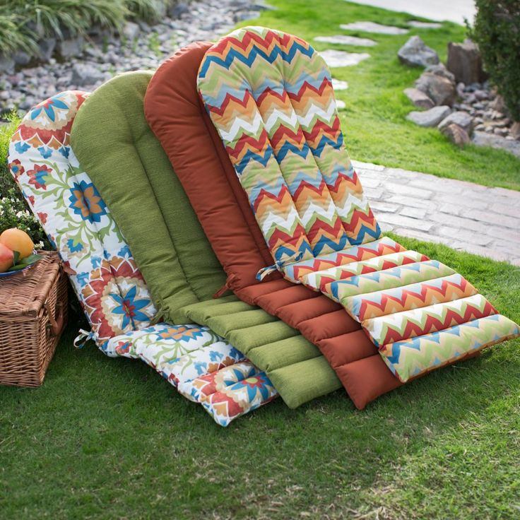 chair cushions outdoor adirondack sunbrella canada sale seat cushion
