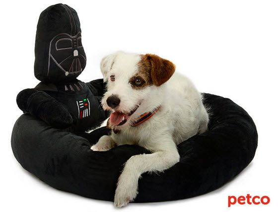 Darth Vader Dog Bed from Petco
