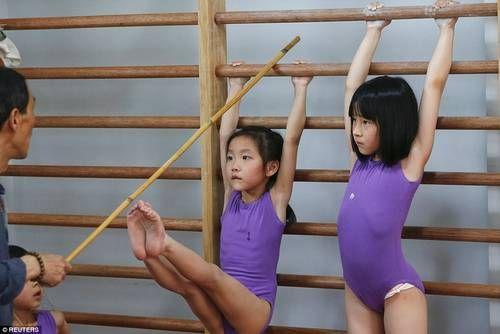 Υποφέρουν 6χρονα παιδιά για να γίνουν Ολυμπιονίκες