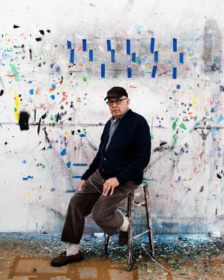 The artist Ellsworth Kelly died on Sunday, at the age of ninety-two.