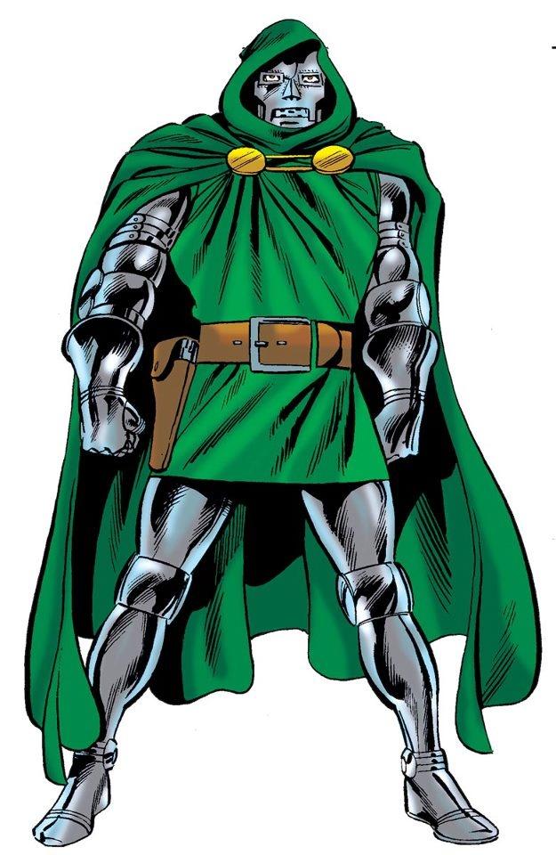 Doctor Doom original Jack Kirby design after he settled for the armor details…
