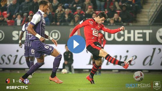 Résumé Rennes vs Toulouse vidéo but Gourcuff (1-0)