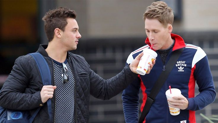 Tom Daley and Dustin Lance Black Romantic Photos 2017