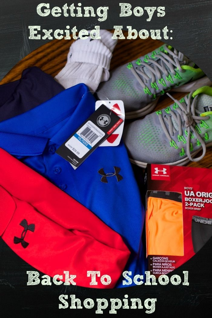 One Stop Back to School Shopping #DSGBack2School #ad Get the boys excited about back to school shopping at Dick's Sporting Goods