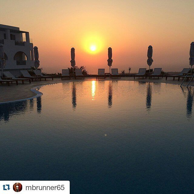 """‪#‎Sunrise‬ in ‪#‎Santorini‬… What magic is…"" Thank you mburunner65 at Instagram for sharing this unique and mesmerizing ‪#‎holiday‬ moment at Astro Palace Hotel & Suites in Fira, Santorini - Greece. Come to experience it yourself before summer fades away..!"