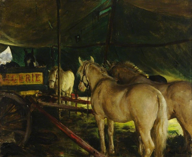 Welsh Ponies, Sanger's Circus  Frederick William Elwell