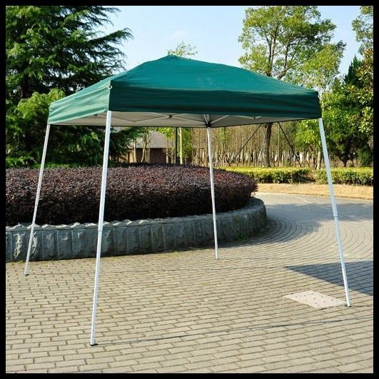 Pop Up Canopy Shelter Outdoor Tent 8x8 Patio Backyard Shade Green Square  Steel US $119.27#
