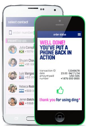 Get it today! Send international mobile top-up faster and easier from the palm of your hand with the 'NEW' ding* mobile app on IOS and Android devices - Download yours here https://www.ding.com/
