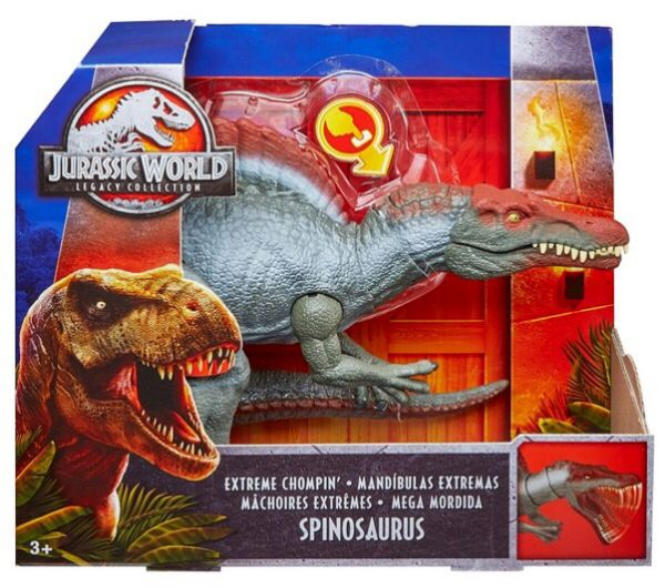 T-Rex action figures et Toys Jurassic World Legacy Collection Extreme chompin