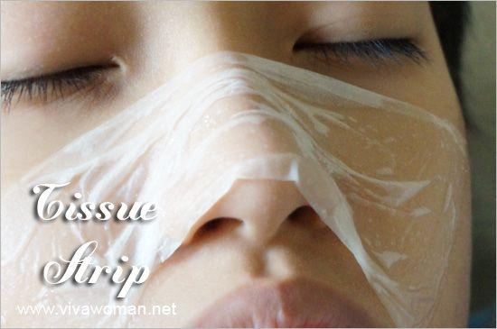 Tissue Paper Pore Strip