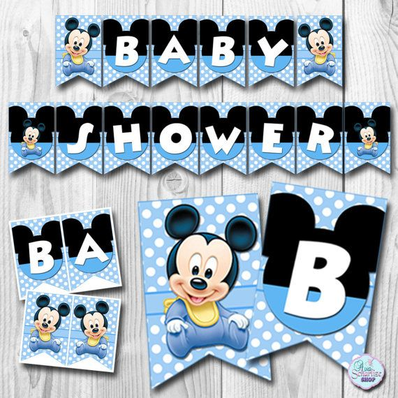 ***INSTANT DOWNLOAD*** BABY MICKEY MOUSE BANNER This listing is for DIGITAL FILE that come in the form of a high resolution JPG FILE (after you extract/unzip the ZIP file) NO PRINTED MATERIALS WILL BE MAILED / SHIPPED TO YOUR ADDRESS! Because this file is DIGITAL, you can print as many copies as youd like from home, photo lab, or copy center. After confirmed payment, the ZIP file can be automatically downloaded from your Etsy account. Please check your PURCHASES. Due to large fil...