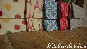 Clutches / pochette / borse a mano tutte rigorosamente handmade