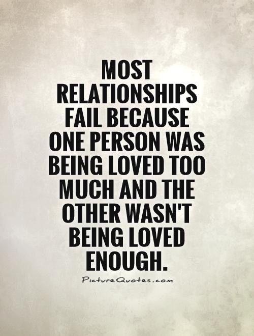 Yep it seems I always love too much