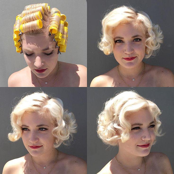 Magnificent 1000 Ideas About Vintage Short Hair On Pinterest Vintage Short Hairstyles Gunalazisus