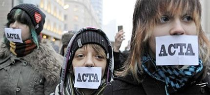 ACTA is terrible, and already law in US.  Prevents the sale of generic drugs, criminalizing saving of seed and growing your own food.  It's censorship of the www, and it's happening right now.